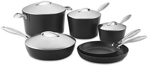 Professional Cookware Set, 10-Piece