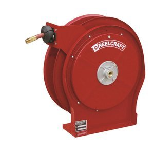 Reelcraft A5850 Olp 1 2 Inch By 50 Feet Spring Driven Hose Reel For Air Water