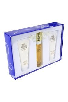 White Diamonds by Elizabeth Taylor for Women - 3 Pc Gift Set 1.7oz EDT Spray, 3.3oz Perfumed Body Lotion, 3.3oz Body - Elizabeth Taylor Rose Body Lotion