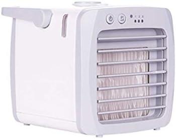 ミニクーラークーラーファンパーソナルエアコンエアコンクーラーデスクトップエアコンミニエアコンusbエアコン家庭用エアコン用クーラー (Color : White)