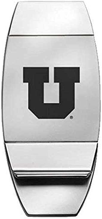 University of Tennessee at Chattanooga Silver Two-Toned Money Clip