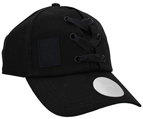 PUMA - Women's Satin Lace-Up Crush Cap Black (Black)