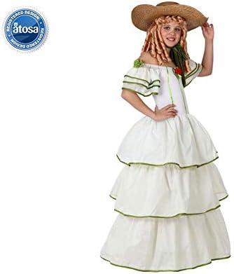Atosa - Disfraz de sevillana para mujer, talla 10-12 años ...