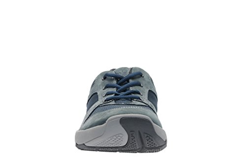Clarks Deporte Hombre Zapatos Wave Launch En Textil Azul Tamaño 41