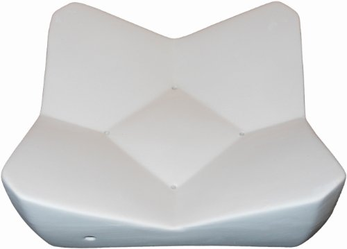 Geometric Sloping Dish - Fusible Glass Slumping Mold