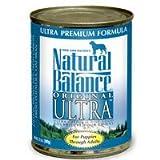 Natural Balance Ultra Can Dog Formula 12/13 oz.