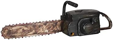 Halloween Chainsaw Prop - Animated Chainsaw Makes Realistic Sounds and Chain Moves by Gemmy