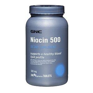 GNC Niacine 500 240 Comprimés