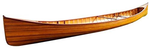 Old Modern Handicrafts Real Canoe with Ribs, 18-Feet