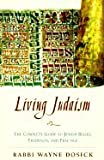 img - for LIVING JUDAISM: The Complete Guide to Jewish Belief, Tradition, and Practice book / textbook / text book