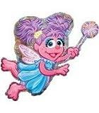 "Abby Large Mylar Balloon 26"" x 37"""