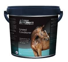 Science Supplements Linseed Conditioner For Horses  15kg  Great source of oil  Ideal for weight gain  Fully balanced supplement  Ready to feed