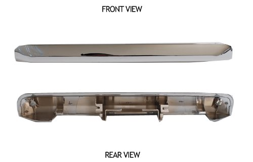 Scion Xb 04 05 06 Liftgate Trunk Hatch Handle Lid Garnish Panel Cover Chrome