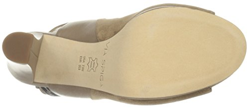 Via Spiga Womens V-Cara Dress Sandal Dark Taupe