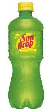 Sun Drop Soda Soft Drink, 20 Ounce (24 (Sundrop Bottle)
