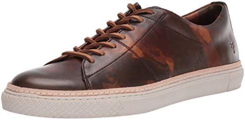 frye essex low leather sneaker