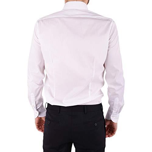 Blanc Btclo10l0622527 Homme Ungaro Chemise Coton EZqxAn0R