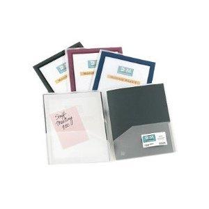 - Avery Flexi View Two Pocket Folder (47857)
