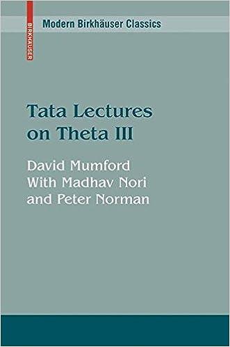 Tata Lectures on Theta III (Progress in Mathematics)