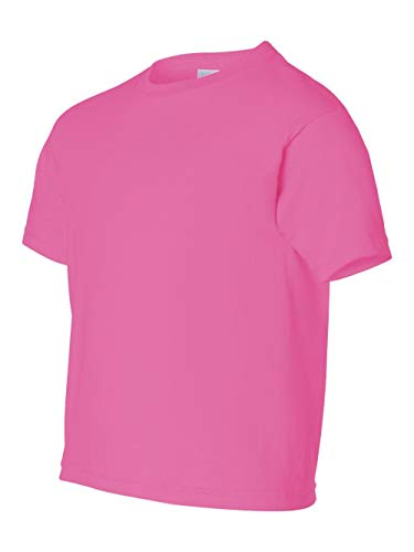 Gildan 2000B - Classic Fit Youth T-shirt Ultra Cotton - First Quality - Safety Pink - Small ()