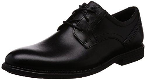 Toe Chaussures Madson Homme Plain Rockport Noir qFExZIZn