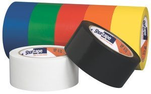 Marking Red Tape Aisle (50mm 33 M 5.25 mil Red Aisle Marking Tape Roll, (Case of 24))