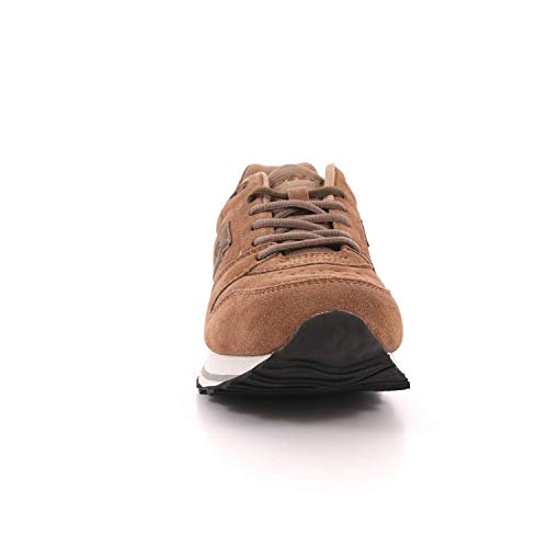 T6503 EU Dk Uomo Brown Sue By Strappo Sand XII Lotto Sneakers Trainer hsk Life's 43 qwg6ZvEv
