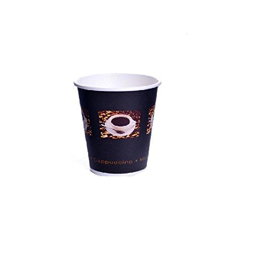 1000 x Coffee to go Becher Espresso 0,1l Coffee Bean Espressobecher Pappe Kaffeebecher