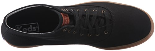 Keds Dames Triple Hi Seizoens Solide Mode Sneaker Zwart