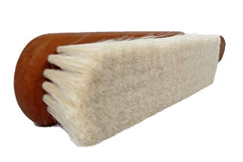 VALENTINO GAREMI Ultra-Fine Fabric Textile Cleaning Brush | Dandruff, Dust, Pet Hair Remover for Luxury Delicate Flat Material Cloths, Uniforms, Business Suits, Tops, Jackets | Made in Germany