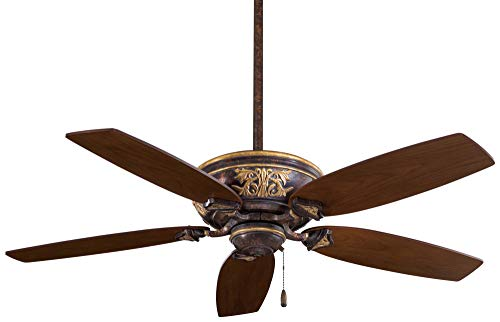 Minka-Aire F659-MCG, Classica Mottled Copper with Gold Highlights Energy Star 54