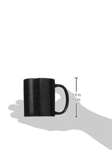 Black//White Trend Setters Awesome Girlfriend Valentines Day Morphing Mugs Heat-Sensitive Mug