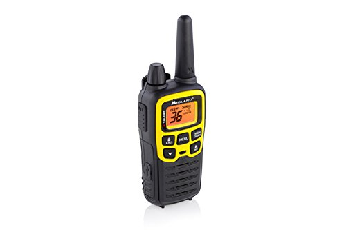 Midland - X-TALKER T61VP3, 36 Channel FRS Two-Way Radio - Up to 32 Mile Range Walkie Talkie, 121 Privacy Codes, NOAA Weather Scan + Alert (Pair Pack) (Black/Yellow) by Midland (Image #4)