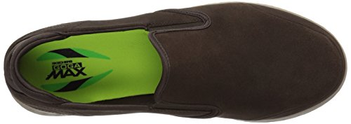 Skechers On-the-go Glide-overtuigende Loafer Chocolade