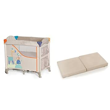 Hauck Sleep'n Care Bassinet Plus Sleeper Mattress - Animals