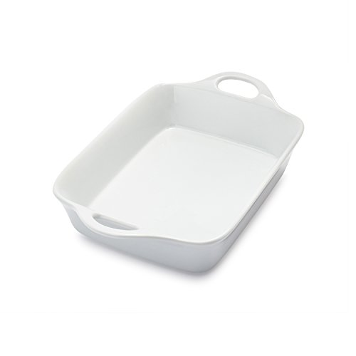 (Sur La Table Rectangular Porcelain Baker UN30-205, 1 qt.)