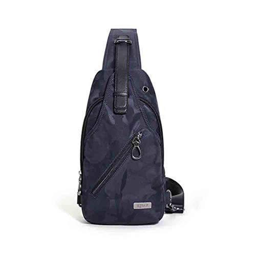 Bleu Pureed couleur Homme Noir Sac One De Bandoulière color À Décontracté Pour Black Size Camouflage Size Triangle Sport SqT4SwF