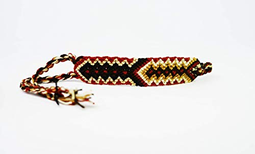 Tuikii Handmade Bracelet for Men and Women - Hand-Woven, Colored, Intricate Cord Wristband - Thoughtful Gifts for Teenage Best Friend (Earth Single)