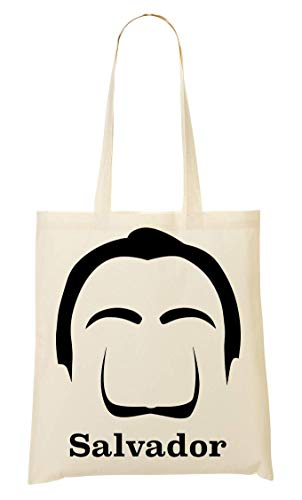 White Provisions tout Wicked Fourre Black Salvador Dali Artwork À Design Sac wqABUIqHv