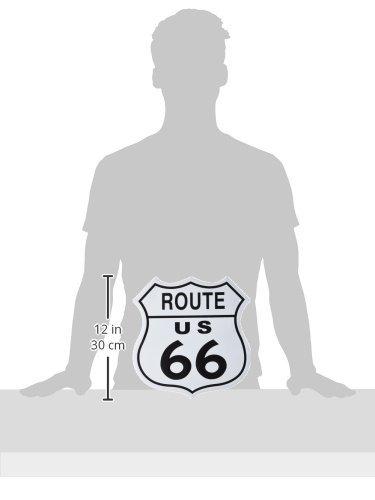 Amazon.com: Adorox US Route 66 escudo cartel de chapa