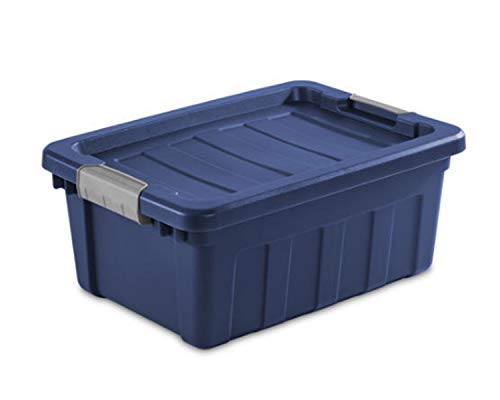Wisechoice Durable 10 Gallon Holiday Storage Tote with Latching Lid Type - Made in USA