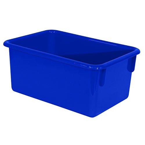 Wood Designs Kids Blue Rectangular Storage Tray (Nc Furniture Of Capital)