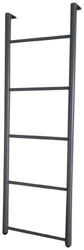 Blantex Bunk Bed Ladder - Hooks on to Bunk Beds (Grey)