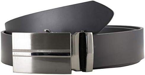 LINDENMANN Gürtel Herren Ledergürtel Herren/Automatik Gürtel Herren, Rindleder, 40 mm, schwarz, Farbe/Color:schwarz, Size US/EU:Waist Size 45.5 IN XXL EU 115 cm