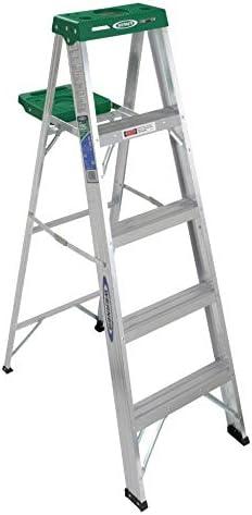 Werner 355 5 de aluminio Paso Escalera: Amazon.es: Bricolaje y herramientas