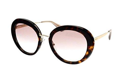 Prada CINEMA' PR16QS Sunglasses 2AU1L0-55 - Havana Frame, Clear Gradient Brown by Prada