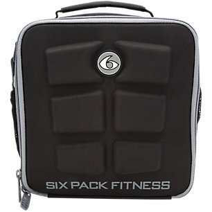 6 Pack Fitness Cube Americas #1 Choice in Meal Management 3 - Meal (Black/Gray)