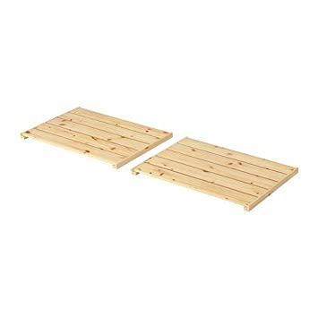 Weinregal gorm ikea  IKEA GORM Regalboden 2tlg. (77cm x 51cm): Amazon.de: Küche & Haushalt