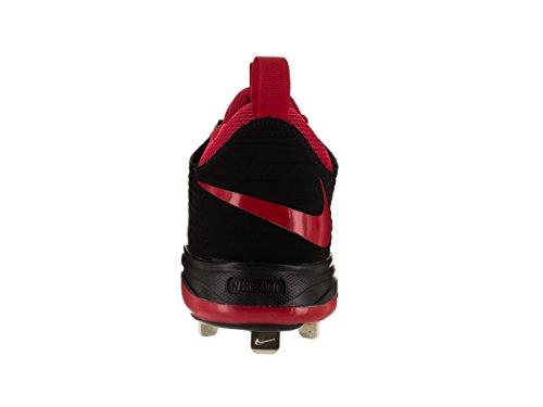 Nike Mens Luft Öring Två Pro Baseboll Cleat Röd-svart