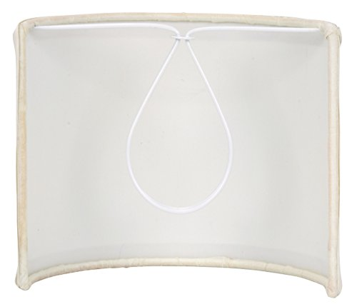 Upgradelights 5 Inch Tall Wall Sconce Clip on Shield Lamp Shade (Chandelier Half Shade) by Upgradelights (Image #2)